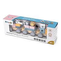 Поезд Viga Toys PolarB с животными (44015)