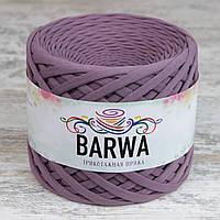 Трикотажная пряжа BARWA standart 7-9 мм, цвет Лиловый визон