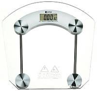 Весы напольные стеклянные ВІТЕК BT-1603A (Квадратные) на 180 кг с термометром