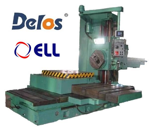 Комплект УЦИ и линейки DELOS, сервопривод ELL12030/250 для станка 2620