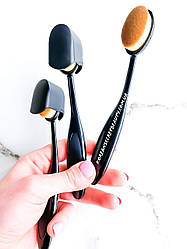 Кисть-щітка для нанесення рідких текстур Coringco Artist Foundation Brush
