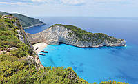 Фотообои 3D природа, берег моря 368x254 см Одинокий остров (3481.21379)