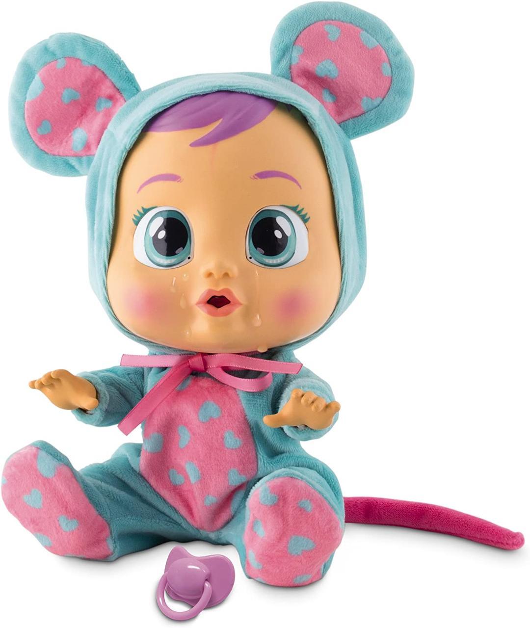 Cry Babies Интерактивная кукла пупс Плачущий младенец Лала мышка  Lala doll