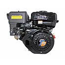 Комбінований двигун LIFAN LF170F-T Газ/бензин (7,5 л. с.) шпонка 20 мм, фото 2