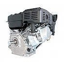 Двигун (бензин-газ) LIFAN LF170F (7 к. с.) шпонка 20 мм, фото 2