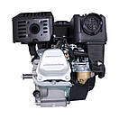 Двигун (бензин-газ) LIFAN LF170F (7 к. с.) шпонка 20 мм, фото 3