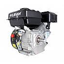 Двигун (бензин-газ) LIFAN LF170F (7 к. с.) шпонка 20 мм, фото 6