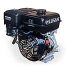 Двигатель (бензин-газ) LIFAN LF177FТ  (9 л.с) шпонка 25 мм, фото 2