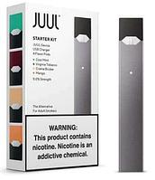 Стартовый набор POD система JUUL Starter Kit Black + 4 картриджа