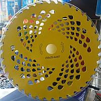 Диск с победитовыми напайками для бензокосы 40т 255мм