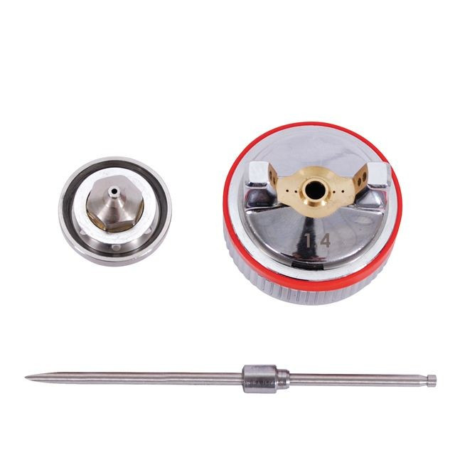 Комплект форсунки 1.4 мм для краскопультов INTERTOOL PT-2114