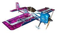 Самолёт р/у Precision Aerobatics Addiction XL 1500мм KIT (фиолетовый), фото 1