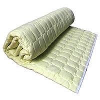 Одеяло летнее Главтекстиль бамбуковое двуспальное 180*210 лимонное
