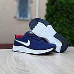 Чоловічі кросівки Nike ZOOM (синьо-червоні) 10178, фото 2