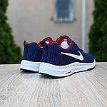 Мужские кроссовки Nike ZOOM (сине-красные) 10178, фото 5