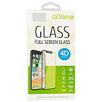 Защитное стекло Optima 4D iPhone 7 Black tdx0000944, КОД: 1663322