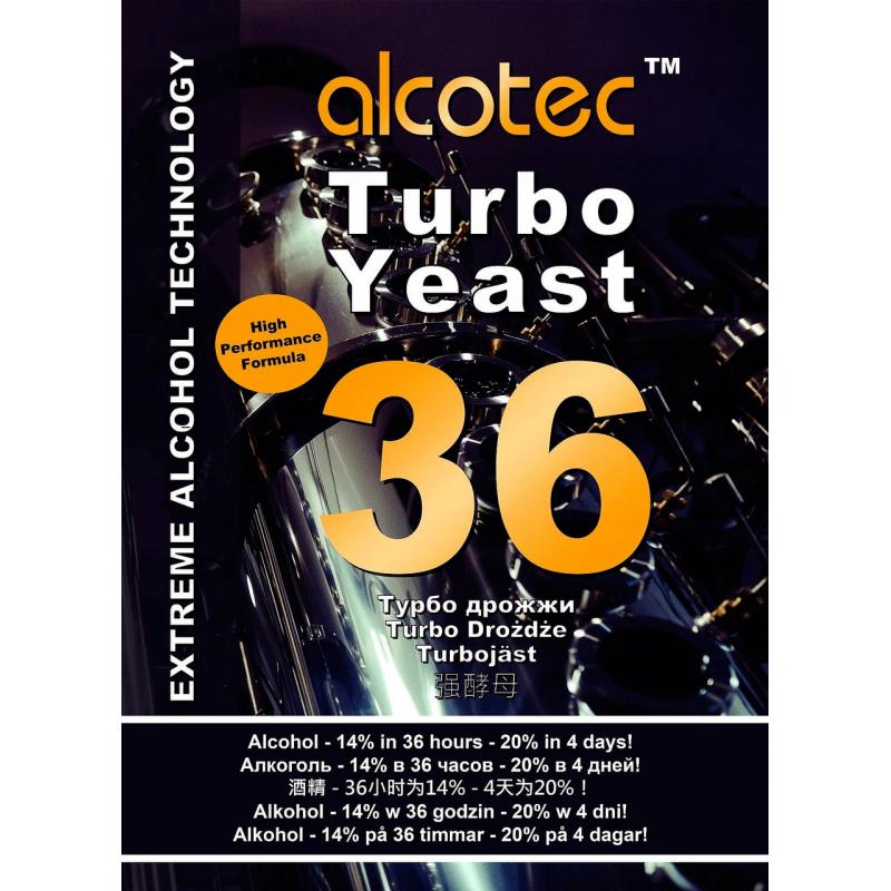 Турбо - дрожжи Alcotec 36 Turbo Yeast