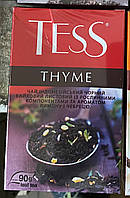 4-чай индонезийский черный Тесс THYME 90г. с ароматом лимона и чебреца