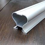 Вертикальный профиль для шкафа купе, серебро 116