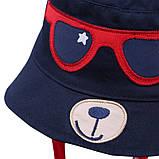 Хлопковая шляпа для мальчика на 1-3 года., фото 2