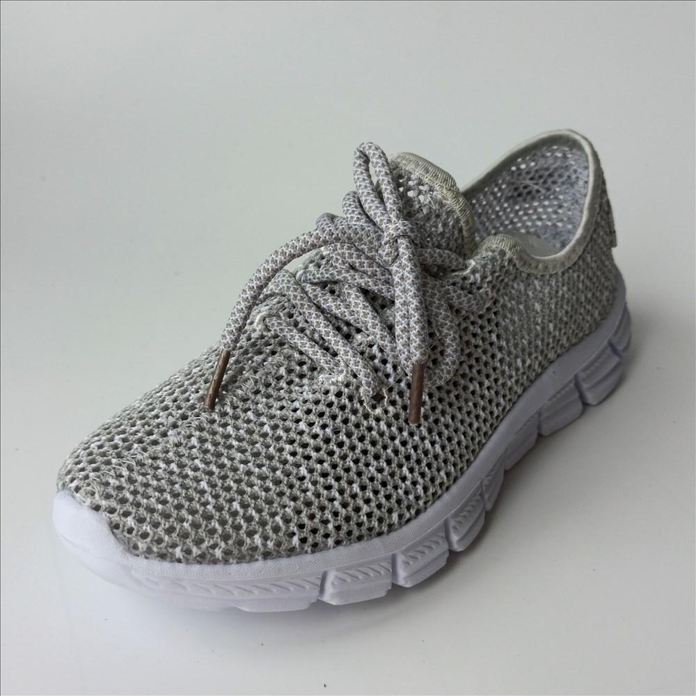 Легкі cерие кросівки розміри: 39-41