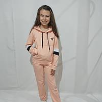 Детский трикотажный спортивный костюм для девочки (рост 134-158)