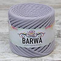 Трикотажная пряжа BARWA light 5-7 мм, Пепел