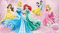 Фотообои детские для девочек, Дисней (флизелин, бумага) 368х254 см  Принцессы: Волшебный бал (591CN)