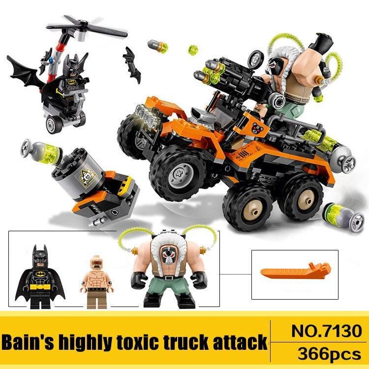 Конструктор Lego совместимый  DECOOL. Химическая атака Бейна, 366 деталей.