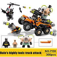 Конструктор Lego совместимый  DECOOL. Химическая атака Бейна, 366 деталей., фото 1