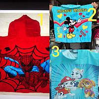 Пончо Детские  60/120 см Пляжные полотенца