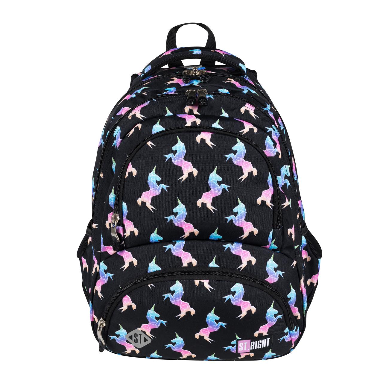 Рюкзак с термокарманом ST RIGHT  BP7 RAINBOW UNICORNS 42x30x20 см 24 литра