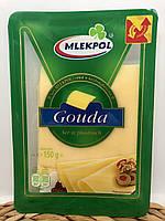 Сир нарізка Gouda Mlekpol 150 г Польща