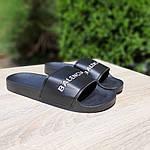 Женские летние шлепки Balenciaga (черные) 50006, фото 4