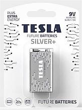Батарейка Tesla SILVER+ 6LR61 9V  1 шт.
