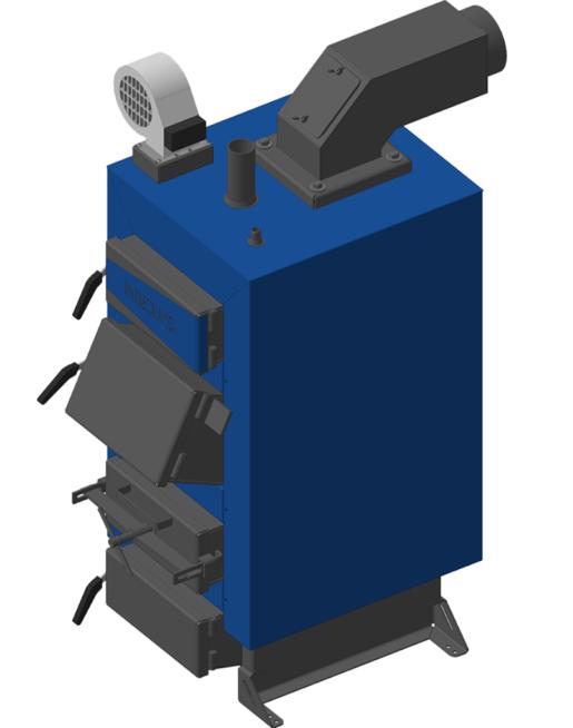 Твердопаливний котел Неус Вичлаз-90 кВт