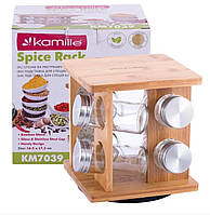 Набор для специй Kamille  17,5х16,5 см нержавейка