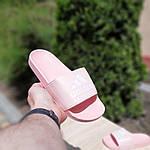 Женские шлепки Adidas на лето (розовые) 50005, фото 3