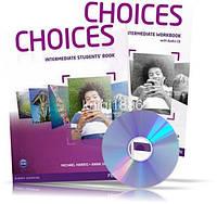 Choices Intermediate, Student's book + Workbook + CD / Учебник + Тетрадь английского языка
