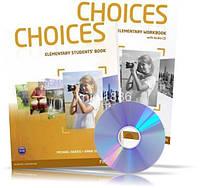 Choices Elementary, Student's book + Workbook + CD / Учебник + Тетрадь английского языка