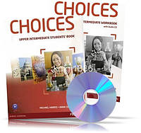 Choices Upper-Intermediate, Student's book + Workbook + CD / Учебник + Тетрадь английского языка