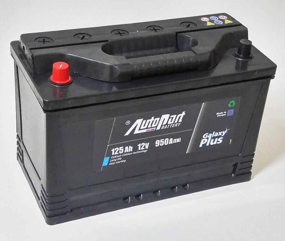 Аккумулятор грузовой Autopart Galaxy Plus 6СТ 125Aч L+ 950А Польша