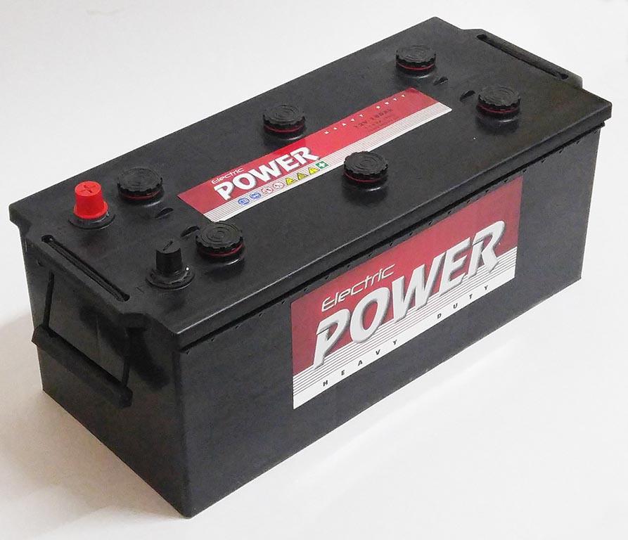 Автомобильный аккумулятор ELECTRIC POWER 6СТ-180Ah АзЕ 1100A Венгрия