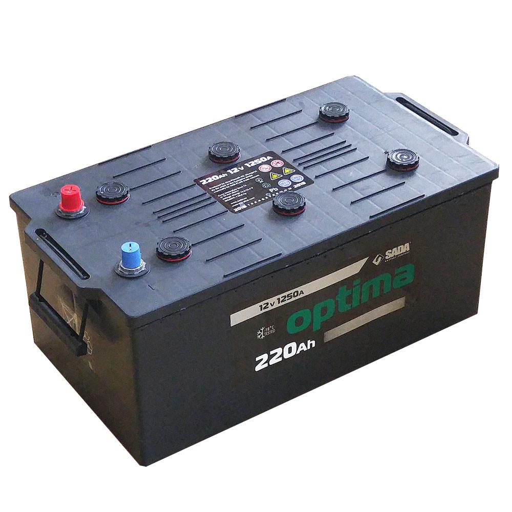 Автомобильный аккумулятор грузовой OPTIMA TRUCK 6СТ-220Ah 12 V АзЕ 1250A Венгрия