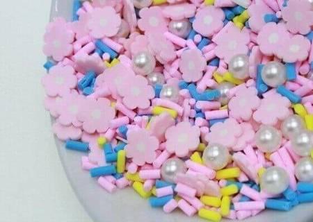 Посыпка «Цветочная поляна» для слаймов (50555)