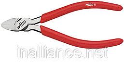 Бокорезы 125 мм для пластмассы с открывающей пружиной без выступа Classic Wiha 37402