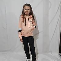 Детский трикотажный спортивный костюм для девочки ( рост 134-158)