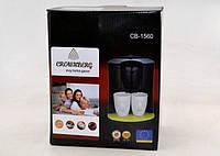 Кофеварка, Coffee Maker CB 1560 Crownberg, Электрокофеварка, Кофемашина с чашками, Кофеварка капельная