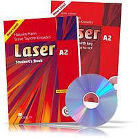 Laser A2, Student's book + Workbook + CD / Учебник + Тетрадь английского языка