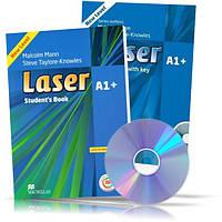 Laser A1 + , Student's book + Workbook + CD / Учебник + Тетрадь английского языка
